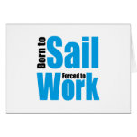 sail tarjeta de felicitación