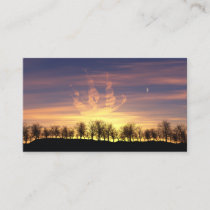 Sail the Night Sky Bookmarks Business Card