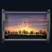 Sail the Night Sky Serving Tray