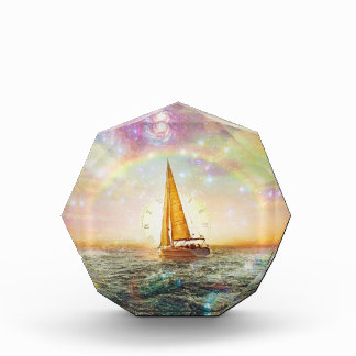 Sail the Sea of Time Octagonal Award