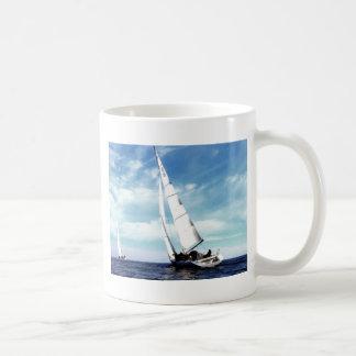 Sail to success catania sicily sky clouds sea mug