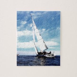 Sail to success catania sicily sky clouds sea puzzles