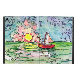 SAIL TO THE SUNSET iPad Case