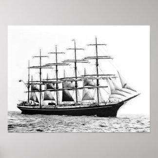 Sail Training Ship Kobenhavn Poster