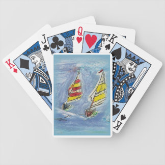 Sail Trick Bicycle Playing Cards