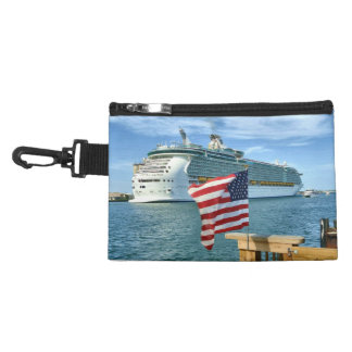 Sailaway American Flag and Ship Accessory Bags