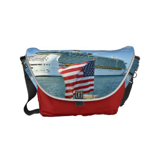 Sailaway Red Small Messenger Bag