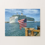 Sailaway with Flag Jigsaw Puzzles
