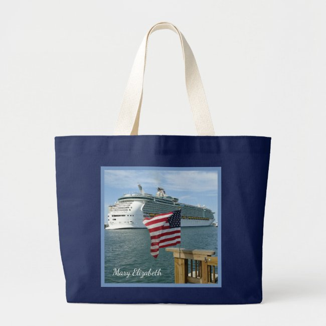 Sailaway with Flag Personalized