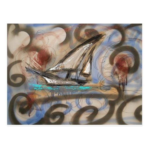 SailBoat77wind Postales