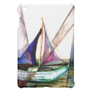 Sailboat Abstract - CricketDiane Ocean Art iPad Mini Cases