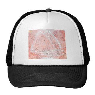 SAILBOAT ABSTRACT TRUCKER HAT