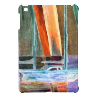 Sailboat Abstract Intangible Sailing Decor Gifts Cover For The iPad Mini