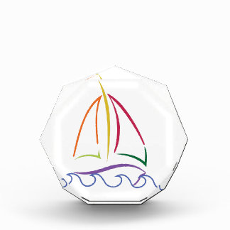Sailboat Acrylic Award