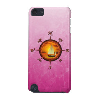 Sailboat And Compass Rose iPod Touch 5G Cover