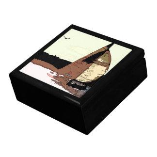 Sailboat Art Gift Box