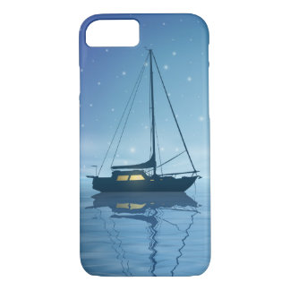 Sailboat at Night Barely There iPhone 7 Case