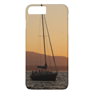 Sailboat At Sunset On The Puget Sound iPhone 7 Plus Case