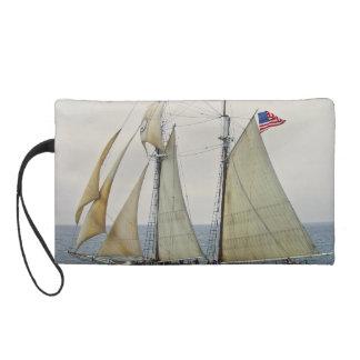 Sailboat Wristlet Purse