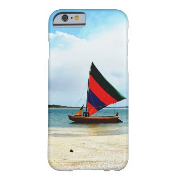 Beach Themed Sailboat Barely There Iphone 6 Case
