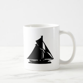 Sailboat Black lg-transp Vero Beach The MUSEUM Zaz Coffee Mug