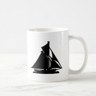Sailboat Black lg-transp Vero Beach The MUSEUM Zaz Classic White Coffee Mug