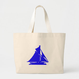 Sailboat Blue lg-transp Vero Beach The MUSEUM Zazz Jumbo Tote Bag