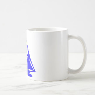 Sailboat Blue lg-transp Vero Beach The MUSEUM Zazz Coffee Mug
