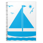 Sailboat Blue Notebooks