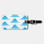 Sailboat Blue Travel Bag Tags