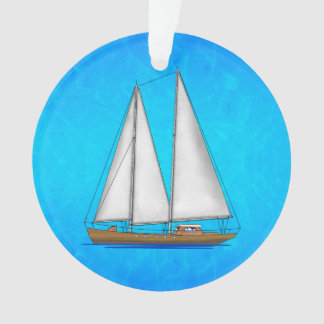 Sailboat Blue Waters
