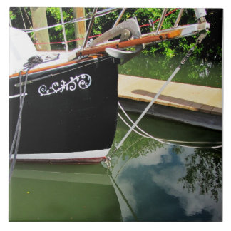 Sailboat Bow Sprit on CeramicTile Ceramic Tile