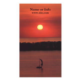 Sailboat Business Card
