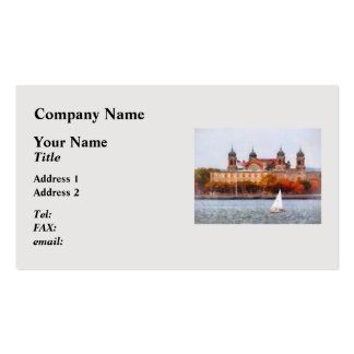 Sailboat by Ellis Island Double-Sided Standard Business Cards (Pack Of 100)