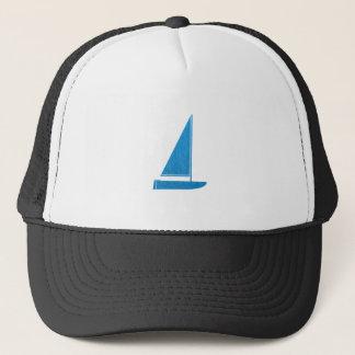 SailBOAT Club Gifts Sail Boat ART NVN41 navinJOSHI Trucker Hat