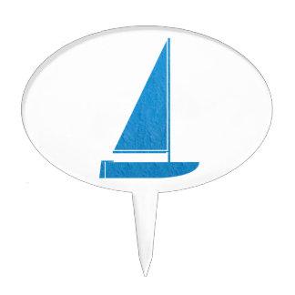 SailBOAT Club Gifts Sail Boat Champion navinJOSHI Cake Pick