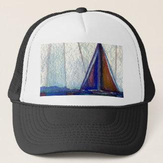 """Sailboat""  CricketDiane Ocean Art Trucker Hat"