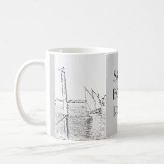 Sailboat Drawing Mug