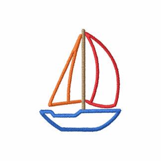 Sailboat Embroidered Shirt