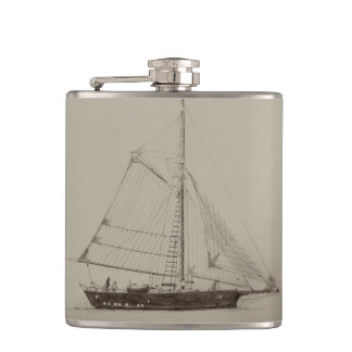 Sailboat Flask