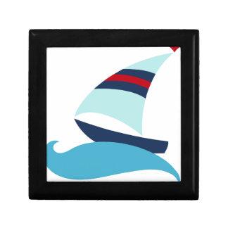 Sailboat Gift Box