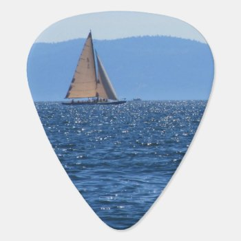 Sailboat Guitar Pick by MarblesPictures at Zazzle