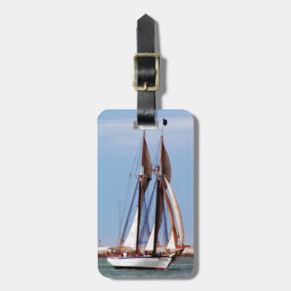 Sailboat in a Brisk Wind Luggage Tag