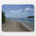 Sailboat in the Distance at St. Thomas Mouse Pad