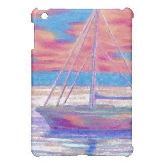 Sailboat in the Sunset CricketDiane Designer Stuff iPad Mini Cover