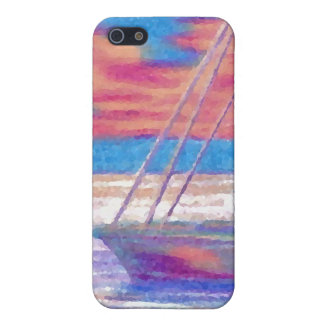 Sailboat in the Sunset CricketDiane Designer Stuff iPhone 5 Cases