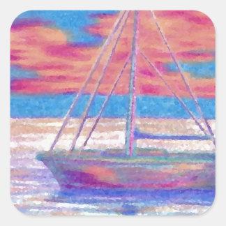 Sailboat in the Sunset CricketDiane Designer Stuff Sticker