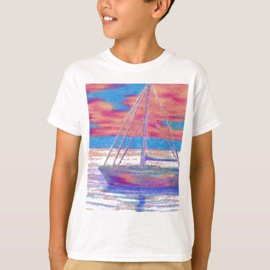 Sailboat in the Sunset CricketDiane Designer Stuff T-Shirt