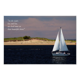 Sailboat, In the sweet, bye and bye, poster
