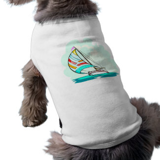Sailboat in the Wind Shirt